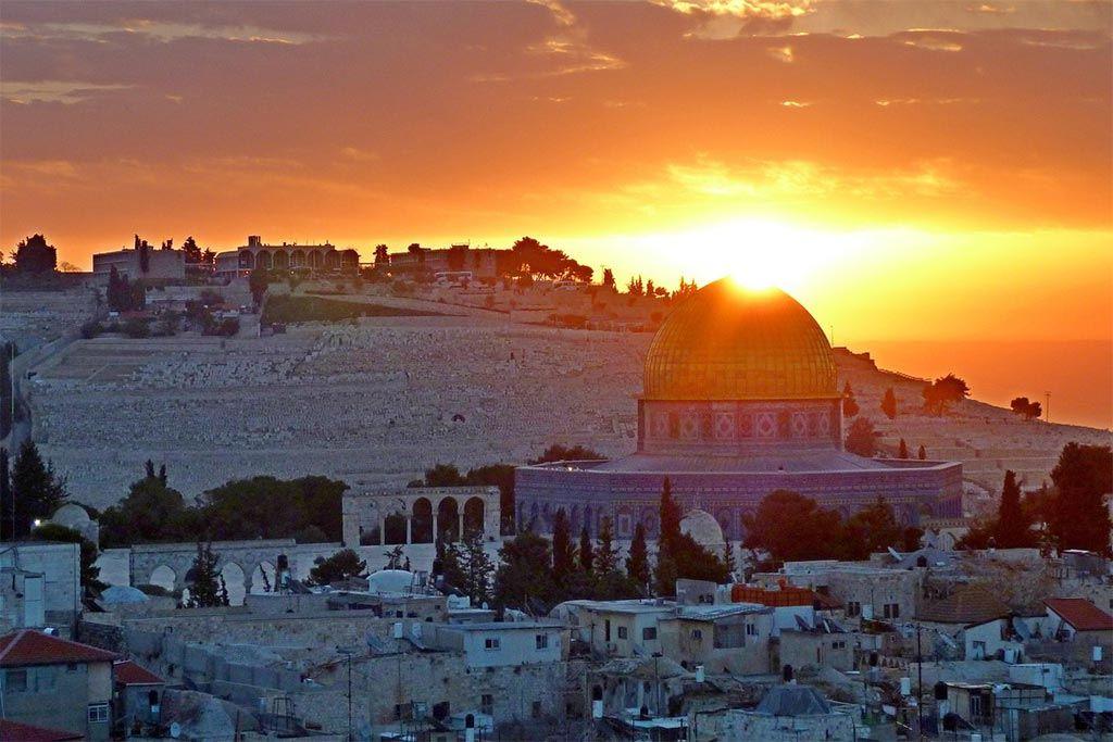 Jeruzalem de hoofdstad van Israël
