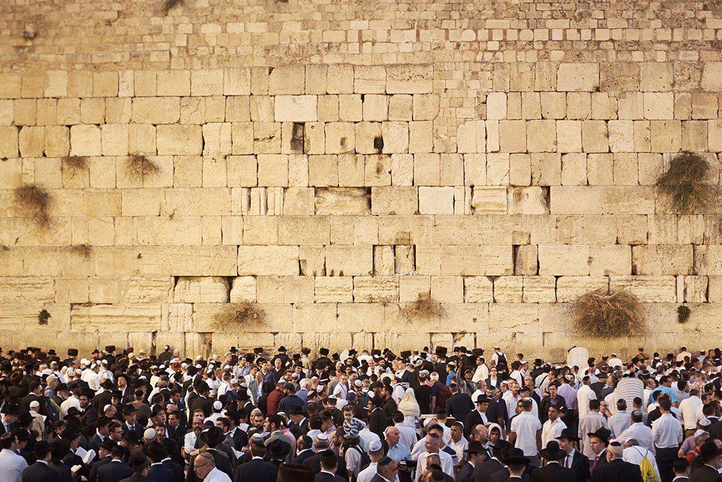 Klaagmuur in Jeruzalem
